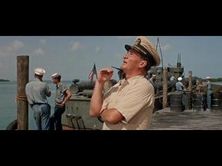 Торпедный катер РТ-109.1963.  Отличный фильм про службу президента США Джона Кеннеди во время Второй Мировой войны. Час 2
